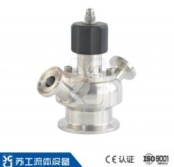 SGM manual aseptic sampling valve (PTFE)