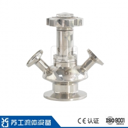 SGM-HT fine-tuning aseptic sampling valve + position display (PTFE)